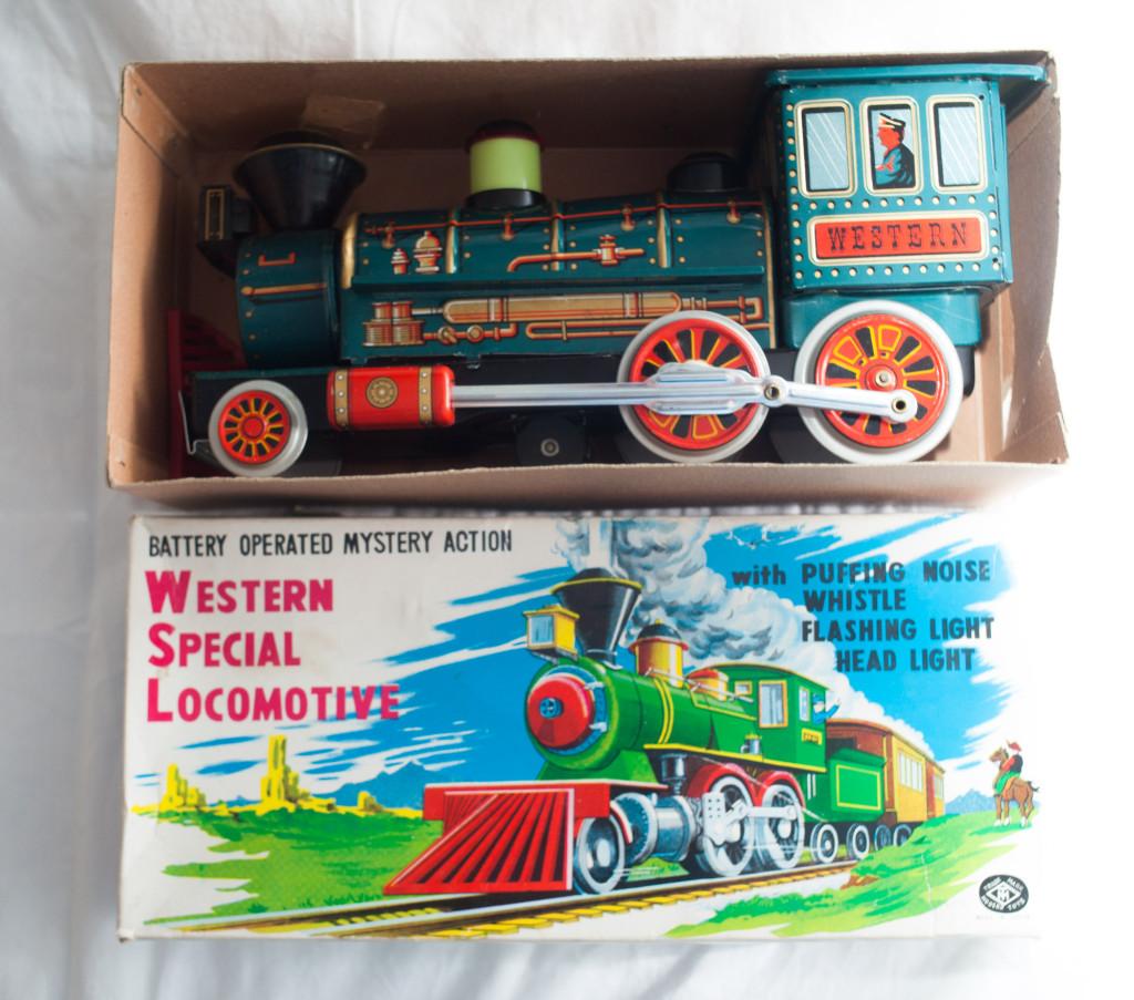 Vintage Locomotive Toy