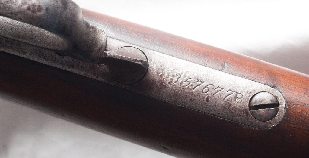 Winchester 1873 Leaver Action Rifle Guard