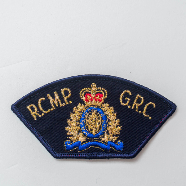 RCMP G.R.C. Obsolete Shoulder Patch Insignia