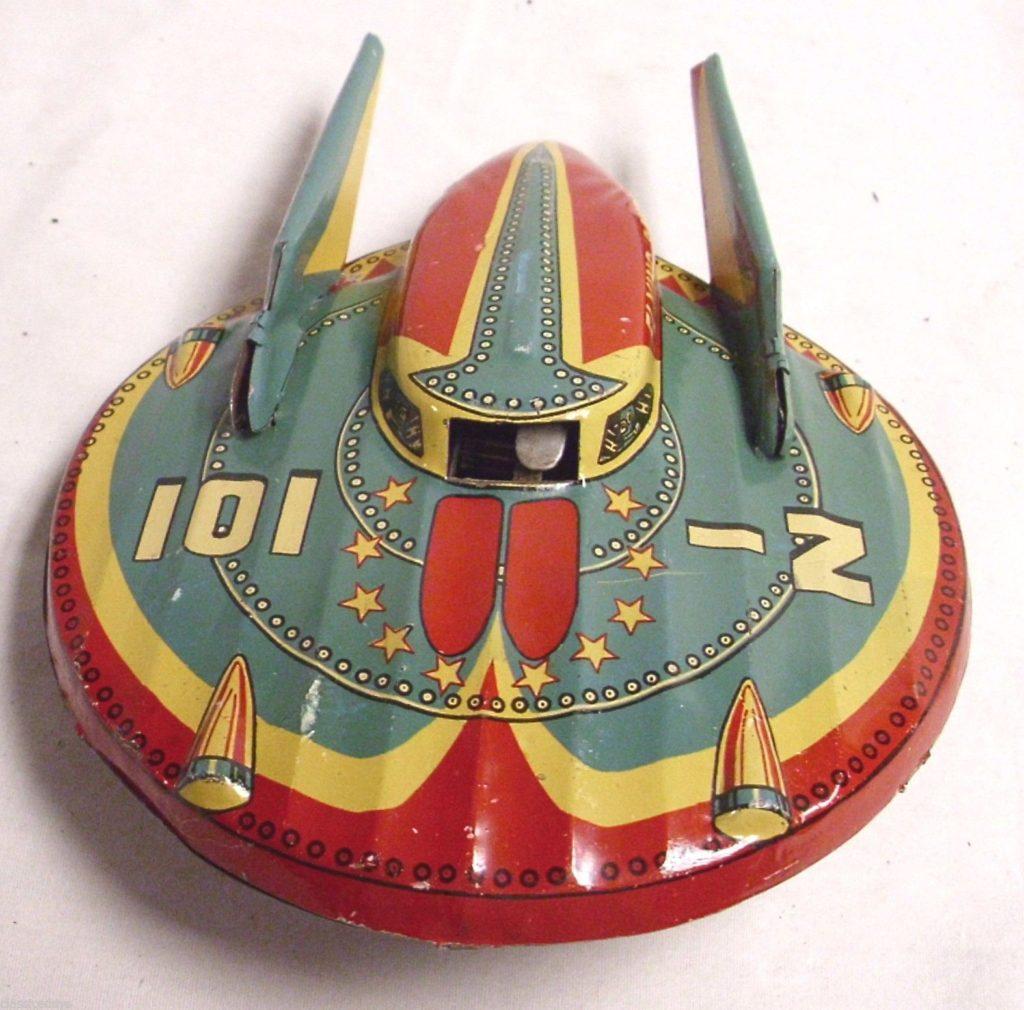 Vintage UFO Toy