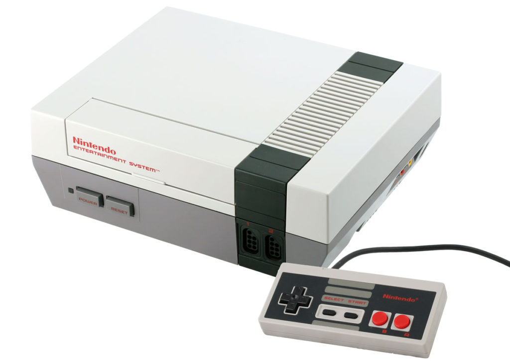 Buying Video Games Console NES
