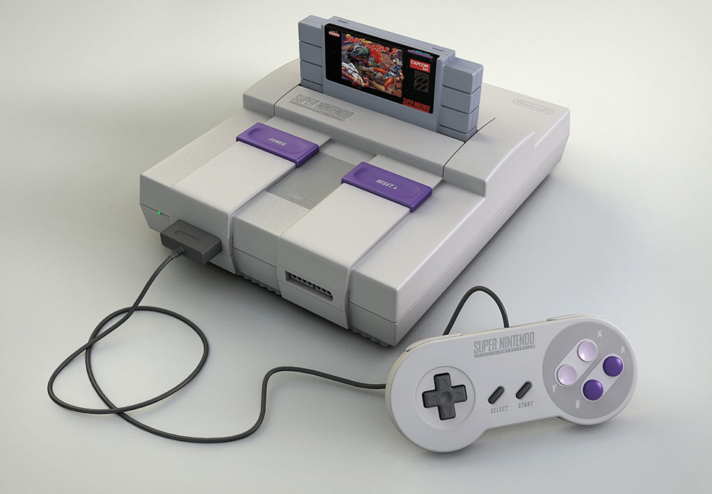 Buying Video Games Console SNES