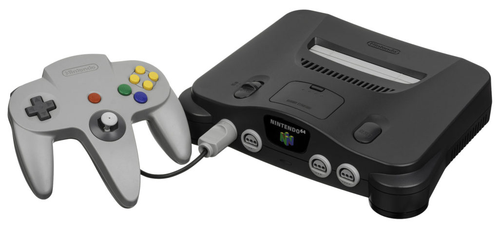 Buying Video Games Console N64