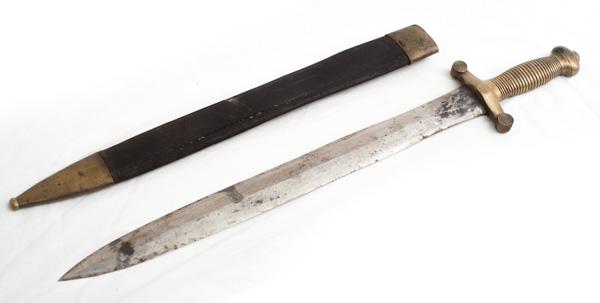 "French 1840's era ""Gladius"" Artillery officers short sword"