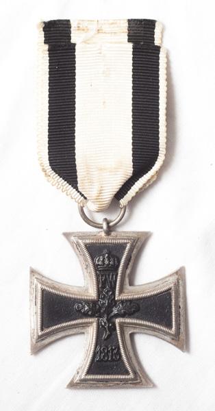 WW1 German Iron Cross 2nd Class (EK2), military issue.