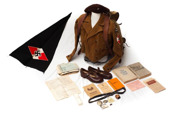 HJ Girls Uniform and Bund Deutscher Mädel (BDM) group, belonging to Elisabeth Spauke.
