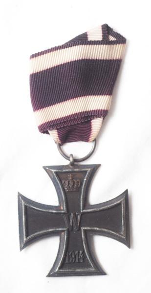 WW1 German Iron Cross 2nd Class Civilian issue.
