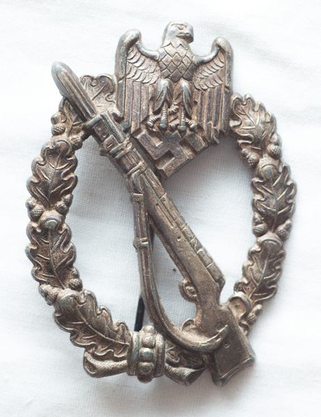 WW2 German Infantry Assault Badge.
