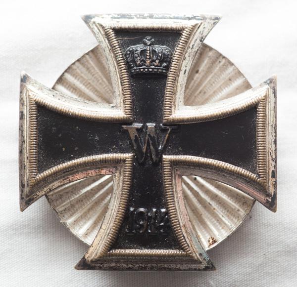 WW1 Imperial German 1st Class Iron Cross (EK1).