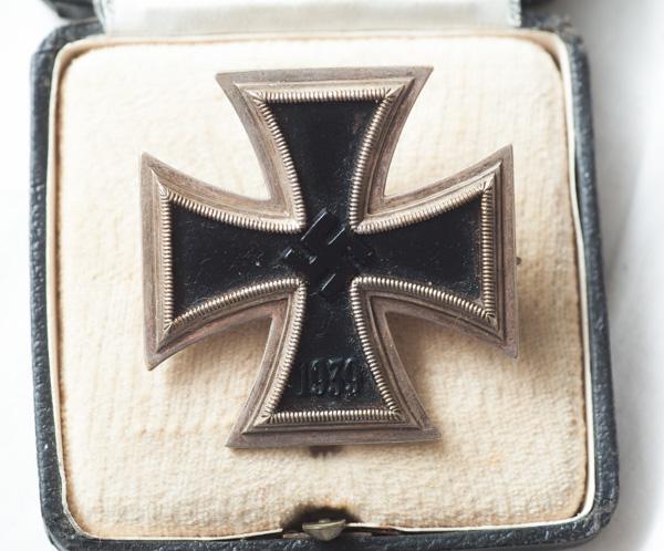 WW2 German 1st Class Iron Cross (EK1).