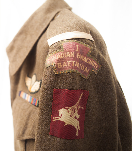 WW2 dated 1st Canadian Parachute Battalion