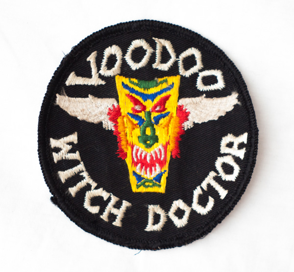 """Late 1960's/1970's """"Voodoo Witch Doctor"""" patch"""