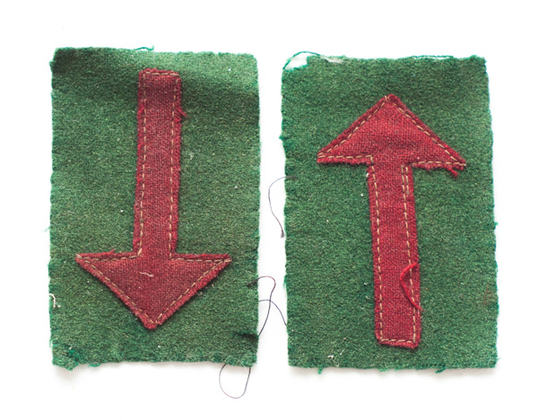 4th Bn Machine Gun Corps formation patches