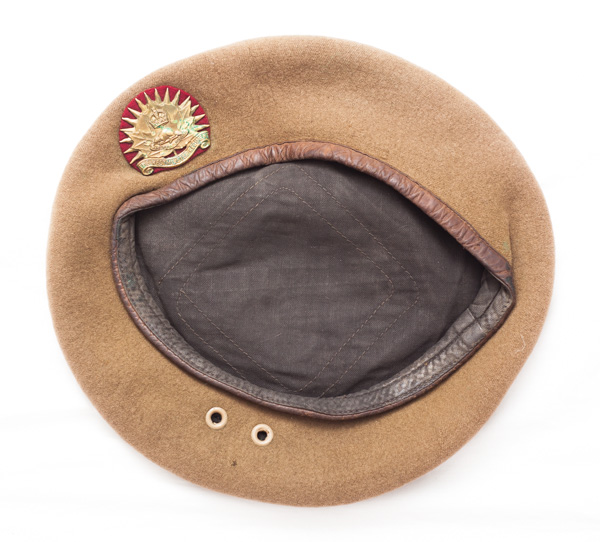 """1944 dated """"The Westminister Regiment"""" beret"""