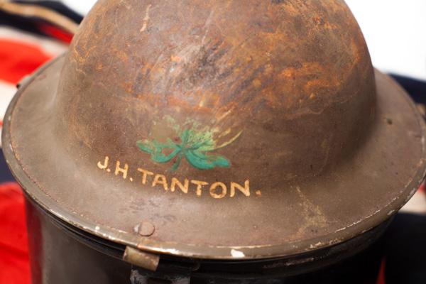 Royal Canadian Navy tommy helmet