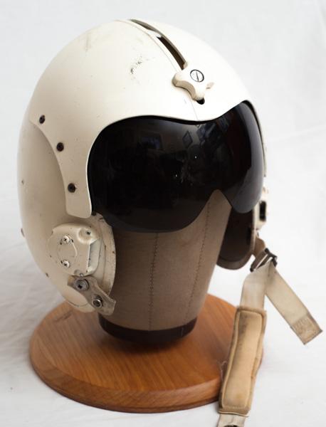 American Vietnam era Huey helicopter pilots helmet