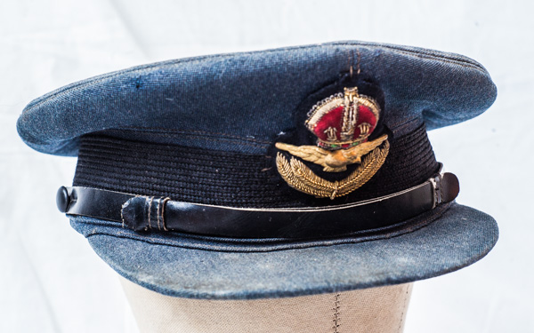 World War Two Canadian R.C.A.F. (Royal Canadian Air Force) Officers Cap