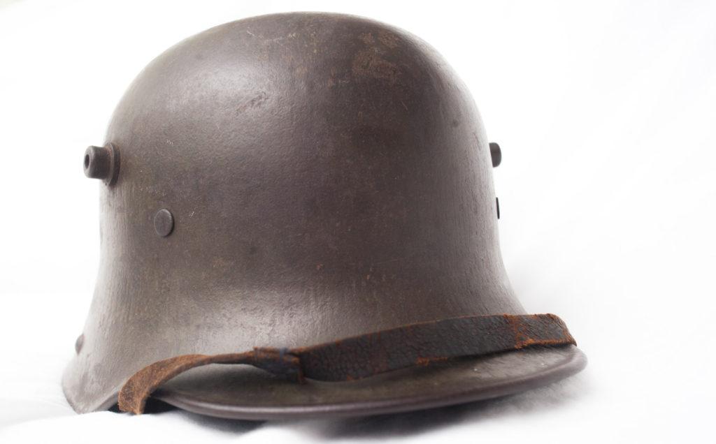 World War One German M16 Stahlhelm Helmet.