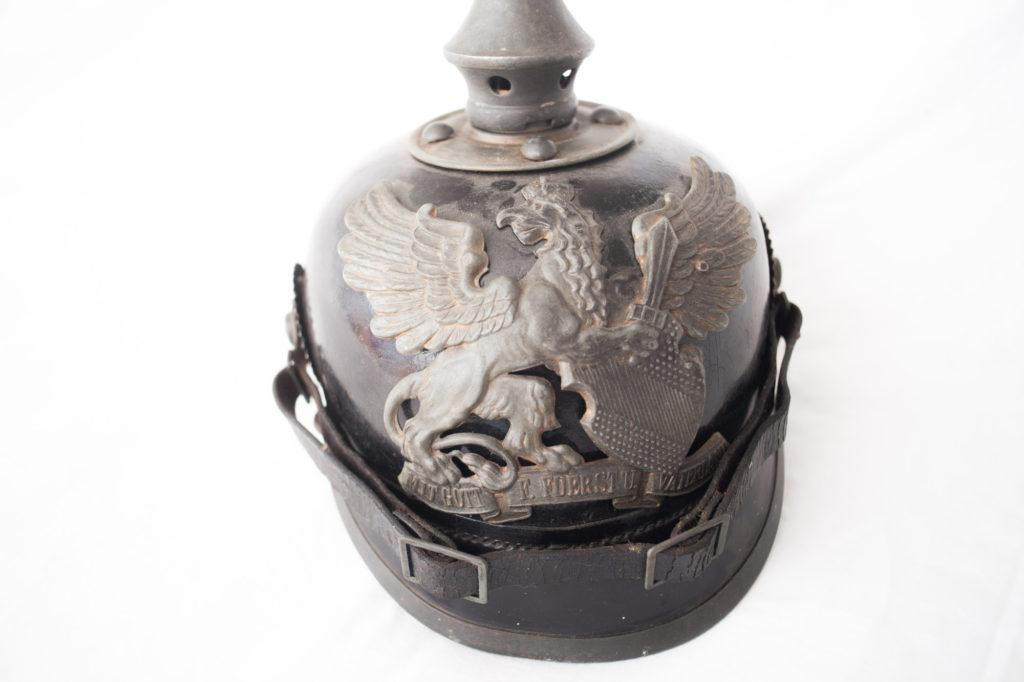 "World War One German ""Baden"" Pickelhauben Spiked Helmet"