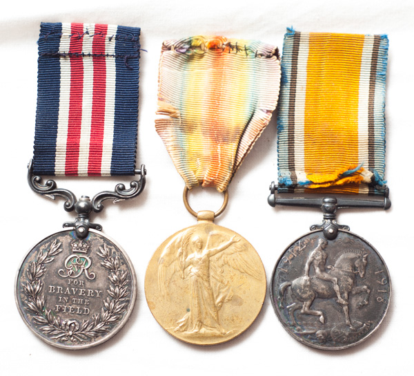 WW1 Military Medal Gallantry group