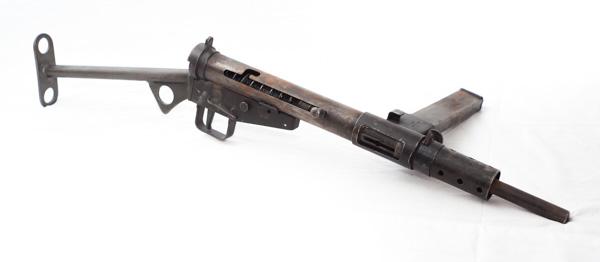 WW2 Canadian Sten Mark 2 submachine gun
