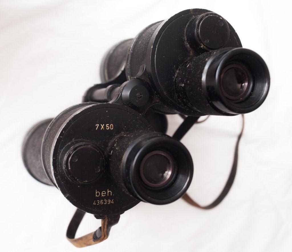 Kreigsmarine binoculars produced by Ernst Leitz Wetzlar.