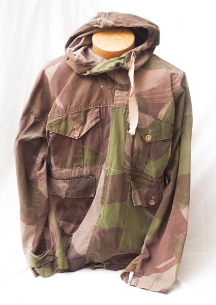 WW2 Canadian camouflage wind smock