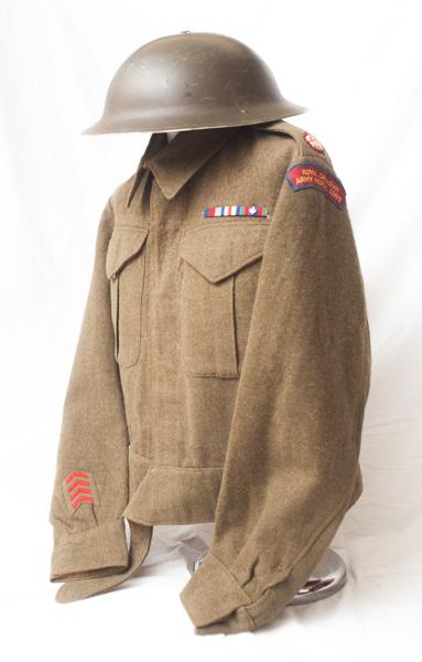 WW2 dated Canadian battledress
