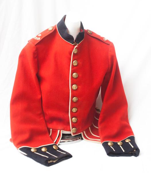 WW1 Canadian made 79TH Cameron highlanders tunic.